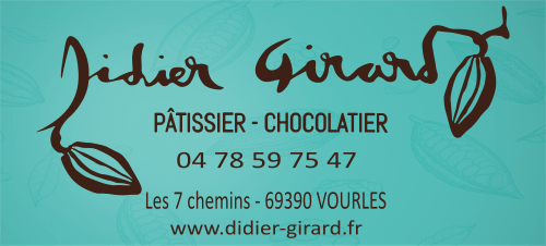Didier Girard Patissier Chocolatieur Vourles Saint Genis Laval