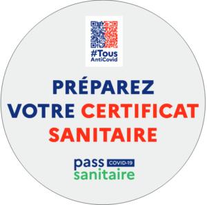 pass sanitauire